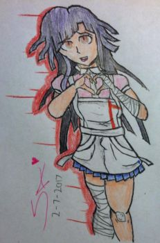 Mikan Tsumiki (Art trade with SirAmpharos) by KitsuneHawk