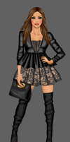 Black Ensemble by divachix