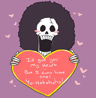 Brook's skulljoke Valentine by Royalnxrd