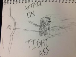 ATTACK ON TIGHT ASS. by waazaa