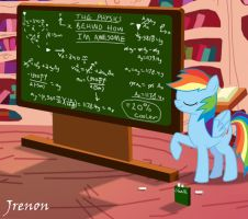 Why Rainbow Dash is awesome by Jrenon