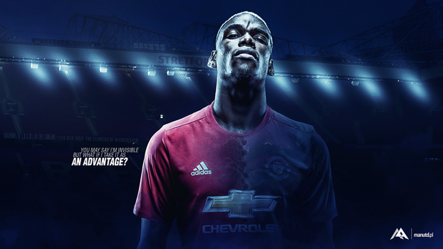 Pogba Wallpaper Man Utd by MaRaYu9