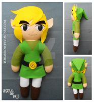 Link - Legend of Zelda - Plush by yuriarrow