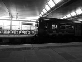 Train at Blackfriars by Ruth-1