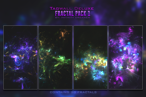 Fractal Pack 1 by infinity-dreamer