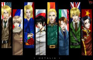 Hetalia Cast by TyrineCarver