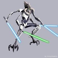 General Cho Grievous by JimmyHawkins