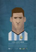 Messi 2014 by SamuraiGustav