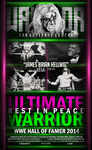 Ultimate Warrior Poster feat.HA by A-XDesigner