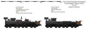 Commander's Tactical Truck TGK-85 by prokhorvlg