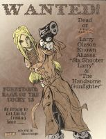 Six Shooter Larry by Lance-Danger