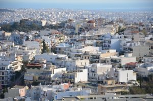 A View of Athens by AmmarkoV1