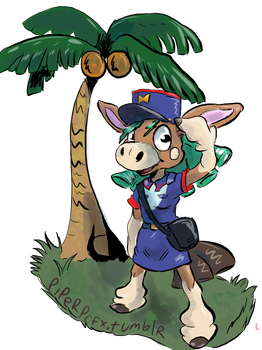 Officer Jenny Mudbray by Wooga