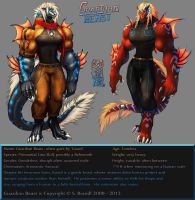 Guardian Beast initial reference sheet by Guardian-Beast