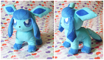 Glaceon plush by d215lab