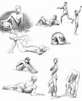 Life Drawing 07 by andrewk