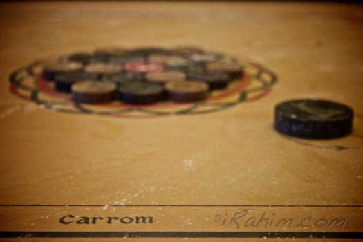 the carrom board by irahim