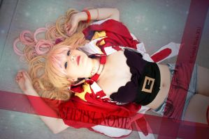 The False Diva . Sheryl Obelisk cosplay by Rael-chan89