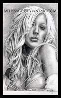 .Christina Aguilera. by melissaGC
