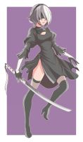 Yorha 2B by AbyssWatchers