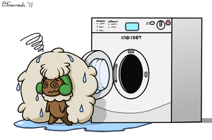 Washed Up Whimsicott by Sorachi-Jirachi