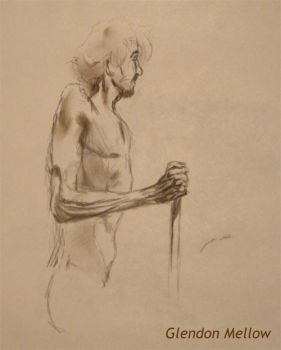 Life Drawing - Male 3 by GlendonMellow