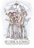 MCR's umbrella... 2 by dragon-flies