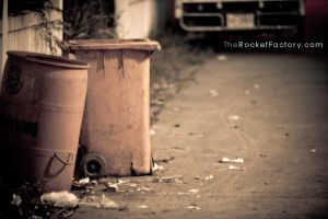 Trash cans by frankrizzo