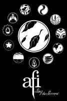 A.F.I. Poster: Sing The Sorrow by TheArtOfPretension