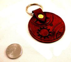 Steampunkified Key Fob by Skinz-N-Hydez