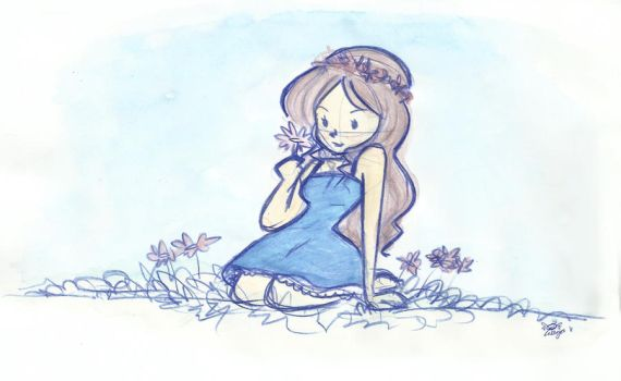 flower girl by maya-alapaap