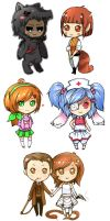 more chibis omg by TotenVeloren
