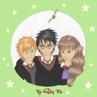 The Golden Trio by Leo-the-Cat