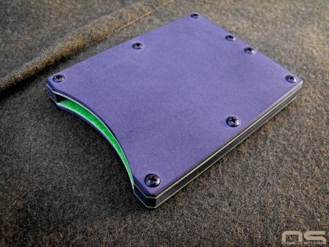 Micarta Card Wallet by cityofthesouth