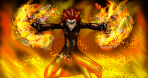 Axel Got it fXcking memorized? by The-Clockwork-Crow