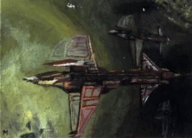 ACEO Maelstrom Fleet -Eve Online by Phil-Monk
