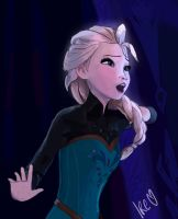 Elsa_Frozen_Let it go by pizzaplanet