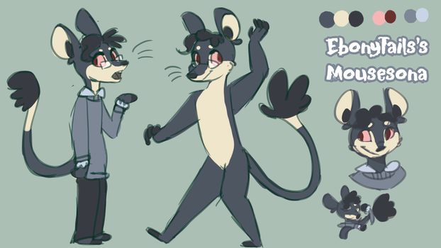 [ Ref ] Mousesona by EbonyTails