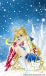 Sailor Moon - Alone by zelldinchit