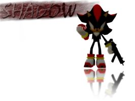 Shadow the Hedgehog Wallpaper by Madilloman