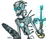 And I was built with a titanium alloy spine. by muddyguts