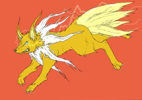Jolteon by MatthewJWills