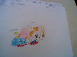 Extremly old drawing of Cream again by CrystalTheHedgehog18