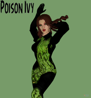 Poison Ivy new52 Meshmod by lonelygoer