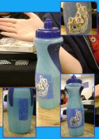 Vaporeon Water Bottle by AmyWolfie