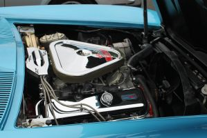 Corvette Sting Ray Engine Bay by Eclipse--Designs