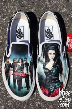 Evanescence Shoes by BBEEshoes