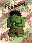 Hungry Hulk is hungry! by Gajia