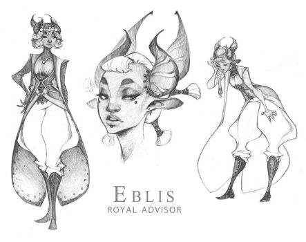 Demons and Other Ilk: Advisor Eblis pt. 2 by dapper-owl