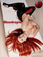 Bloodrayne with long hair by Rayne-Wolfenstain